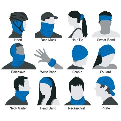 Multiple Ways To Wear Your Neck Gaiter