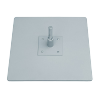 "Base Plate 16"" x 16"" with Surface Mount 90°"