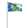 Custom Printed Event Flags Landscape