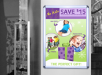 Poster Snap Frames are user-friendly wall displays with an attractive silver and chrome finish for use anywhere.