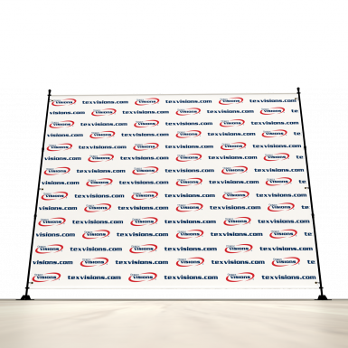 Banners can be ordered in a variety of sizes - all the way up to 10x10.