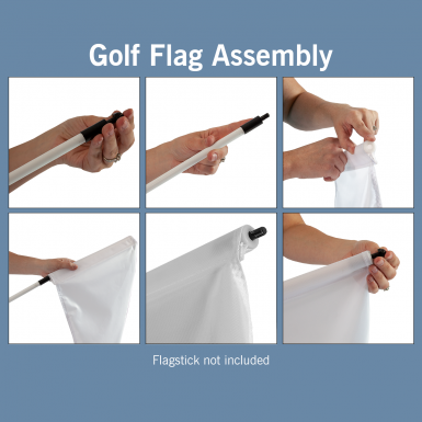 Tubes are made for use with golf flagsticks.