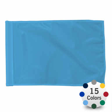 Stock Color Golf Flag
