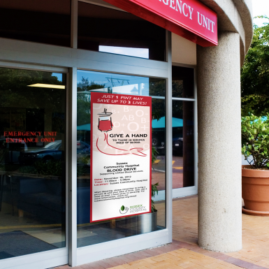 Our Permanent PSA is a user-friendly vinyl print that can be installed easily with no tools required.
