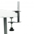 Heavy-duty Table Clamp supports Bowflag® displays on tables.