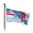 Your client can purchase custom Landscape Flags Single-Reverse in various standard and custom sizes.