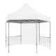 Hex Pavilion White Canopy & Walls 13' x 13'