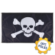 Pirate Flag w/ Optional Flagpole