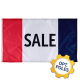 Sale Flag w/ Optional Flagpole