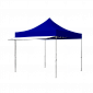 Shown here is our white tent awning in 10ft length. Custom printing is also available.
