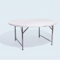 Round Foldable Table