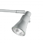 To mount, the Roll Up Light – Silver is attached to the 3-part pole and is adjusted to the desired angle.