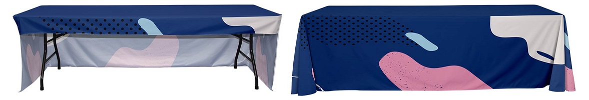 3-Sided vs 4-Sided Tablecloths