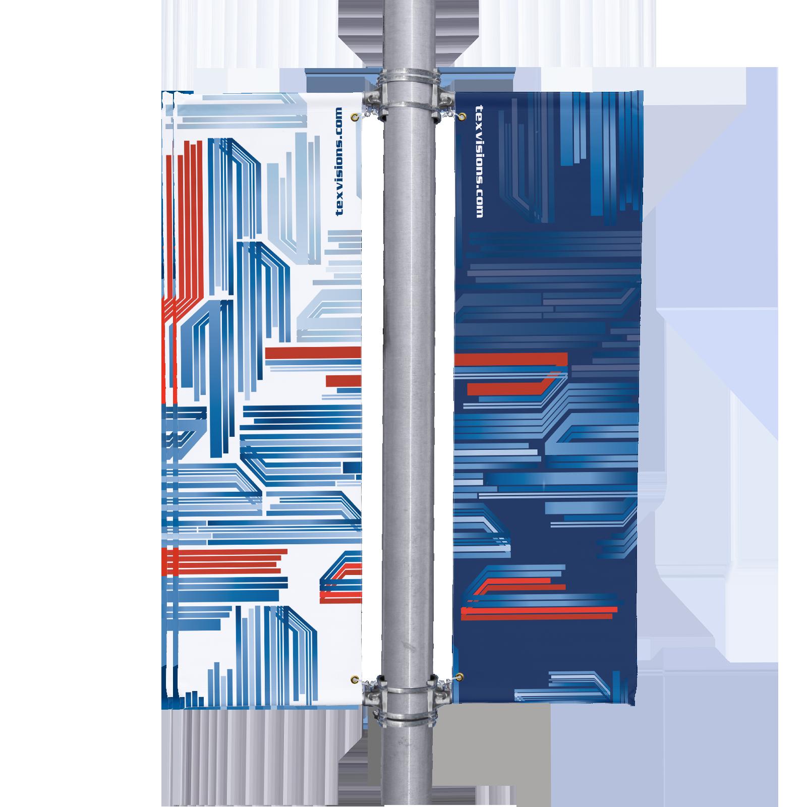 Light Poles Plus: Street Light Pole Banners W/ Heavy-Duty Mounting Brackets