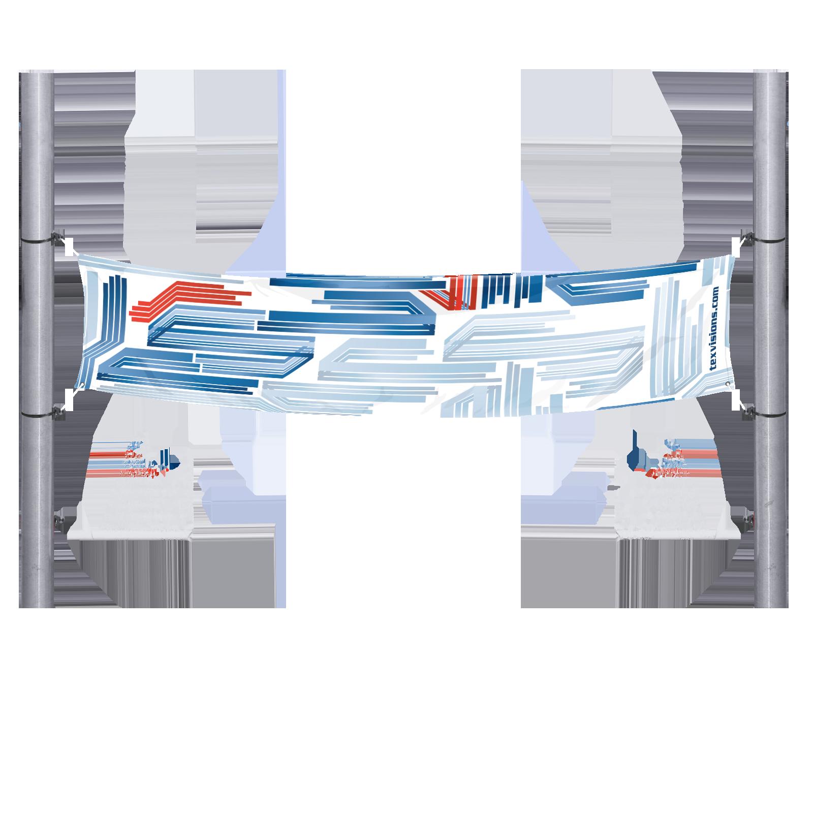 Light Poles Plus: Across-the-Street Light Poles Banner W/ Heavy-Duty Brackets
