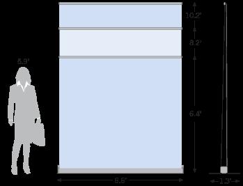 Retractable Backdrop Sketch