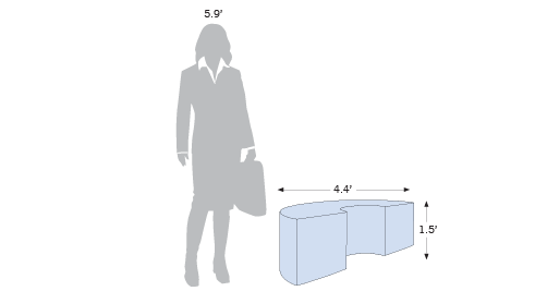 Display Lounge Semi-Ring