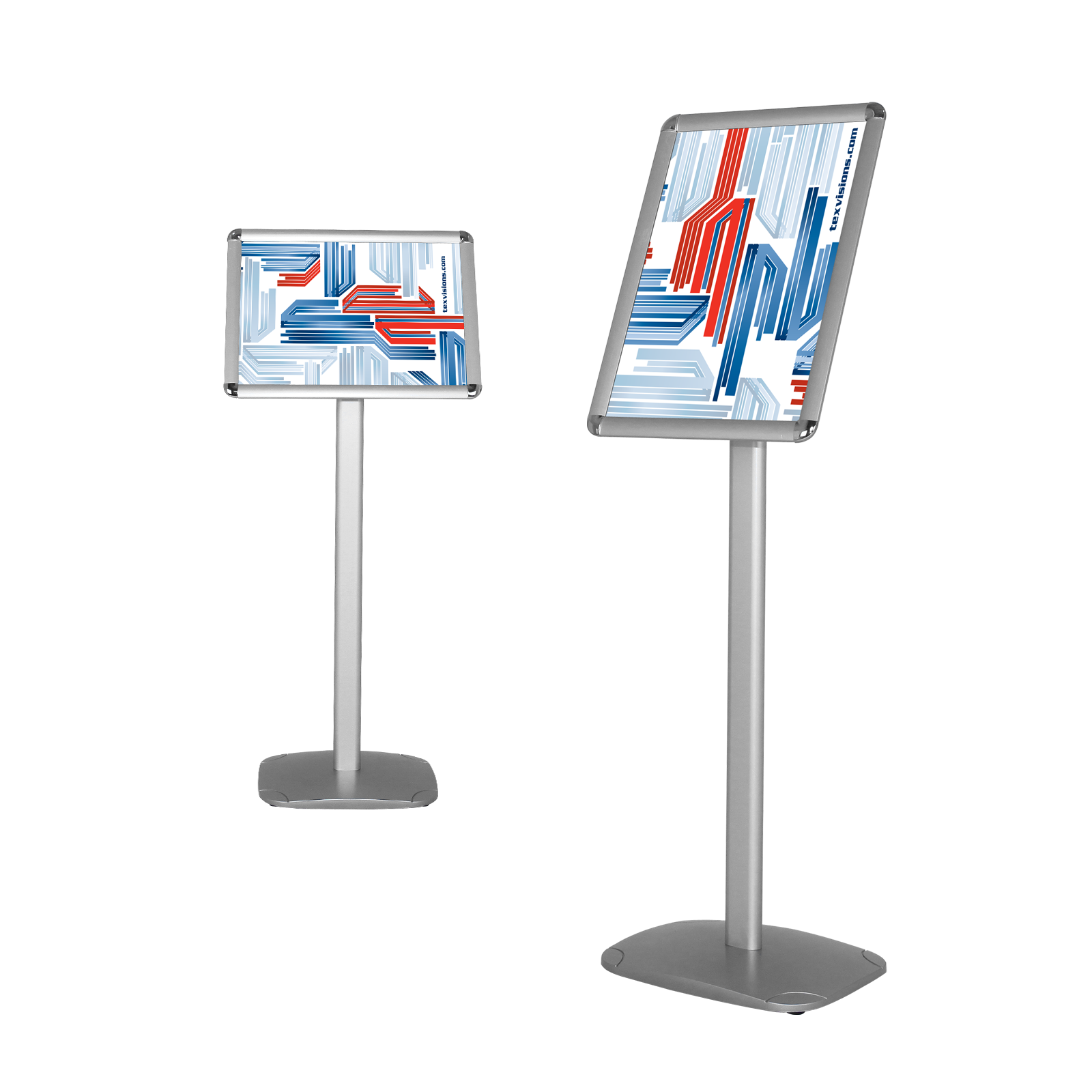 Exhibition Stand Png : Podium style sidewalk advertising display stand with