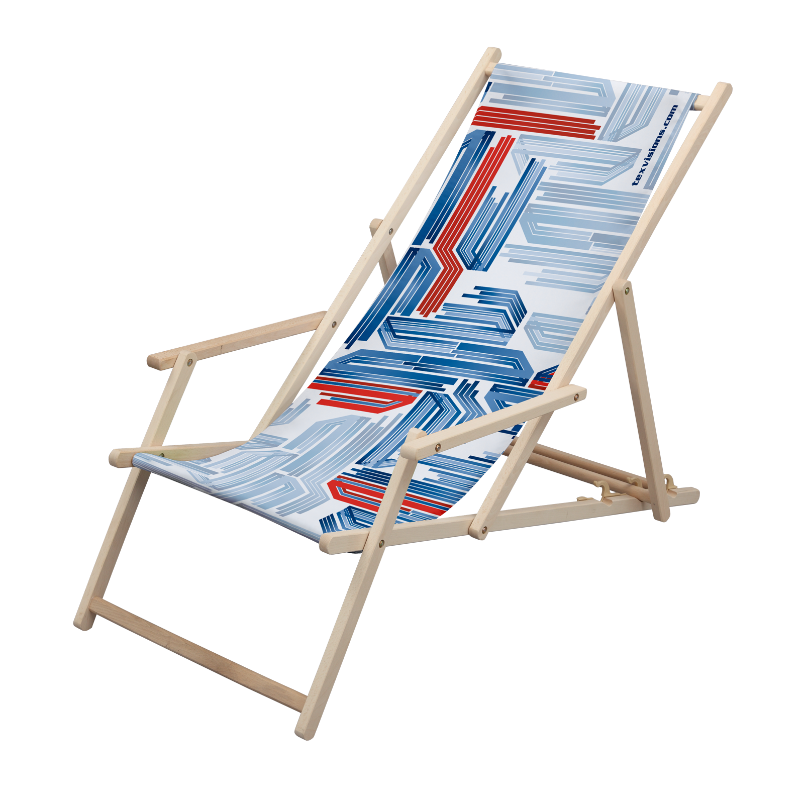 Deck Chair with Arms Wooden Chairs