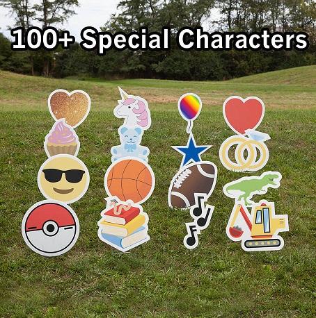 Emoji and Character Options