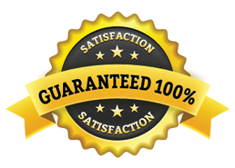 Satisfaction Guarantee Gold Seal